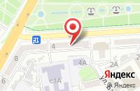 Схема проезда до компании Техпроект в Астрахани