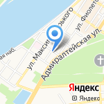 Справедливая Россия на карте Астрахани