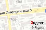 Схема проезда до компании Карась в Астрахани