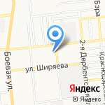 Астрапрофи на карте Астрахани