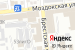 Схема проезда до компании Астрахань Автостекло в Астрахани