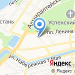 Абвгдейка на карте Астрахани
