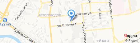 Автосвет на карте Астрахани