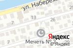 Схема проезда до компании Газпром сера в Астрахани