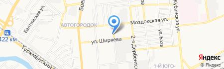 Климат-Люкс на карте Астрахани