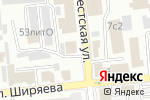Схема проезда до компании Автосвет в Астрахани