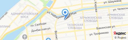 Мечеть №2 на карте Астрахани