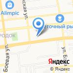 Прикосновение на карте Астрахани
