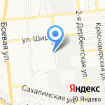 Чистая вода на карте Астрахани