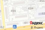 Схема проезда до компании Ветер перемен в Астрахани