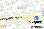 Схема проезда до компании Гламур в Астрахани