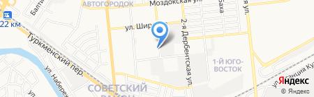 АвтоБуксир на карте Астрахани