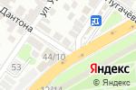 Схема проезда до компании Ботаника в Астрахани