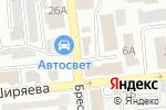 Схема проезда до компании Лига Ворот в Астрахани