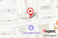 Схема проезда до компании Автосила в Астрахани