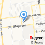 Лига Ворот на карте Астрахани