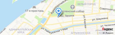 Мир Бизнес Банк на карте Астрахани