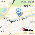 Визит на карте Астрахани