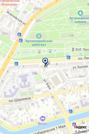 АСТРАХАНЬСПЕЦГАЗАВТОСЕРВИС ПКФ на карте Астрахани