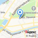 ЛОРЕС на карте Астрахани