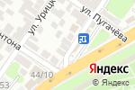 Схема проезда до компании ОРФК в Астрахани