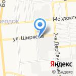 Колесо на карте Астрахани