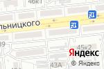 Схема проезда до компании Афелия в Астрахани
