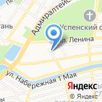 Следственный изолятор №1 на карте Астрахани