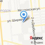 ПиР на карте Астрахани