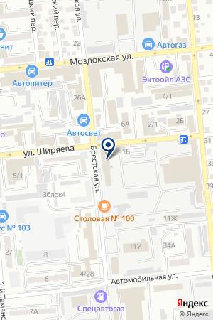 МЕТАЛЛПРОМСЕРВИС на карте Астрахани