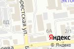 Схема проезда до компании Байкал-Сервис в Астрахани