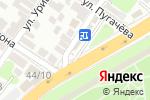 Схема проезда до компании Сеть магазинов в Астрахани