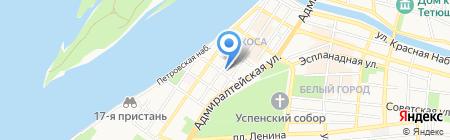 Таверна на карте Астрахани