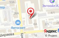 Схема проезда до компании Маргарита в Астрахани