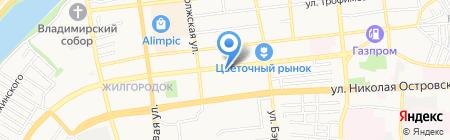 Пламет-Эксклюзив на карте Астрахани