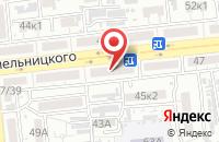 Схема проезда до компании Пламет-Эксклюзив в Астрахани