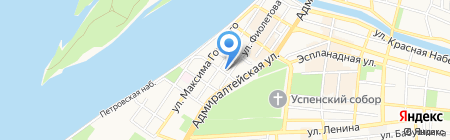 ПАти на карте Астрахани