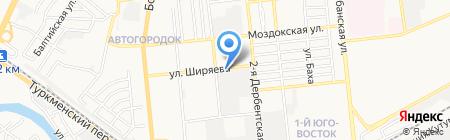 Канцлер на карте Астрахани