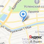 Защита чести на карте Астрахани