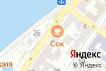 Схема проезда до компании Волна 2 в Астрахани