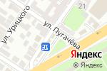 Схема проезда до компании Хлебные традиции в Астрахани