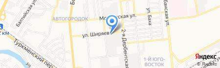Элит-Авто на карте Астрахани