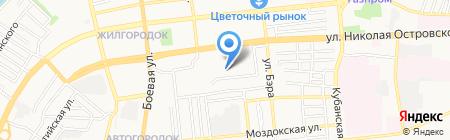 Детский сад №108 на карте Астрахани