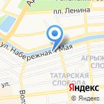 Астраханский клуб настольного хоккея на карте Астрахани