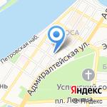 Беллиссимо на карте Астрахани