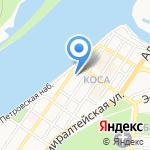 Астраханское областное управление инкассации на карте Астрахани