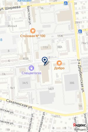 Служба эвакуации на карте Астрахани