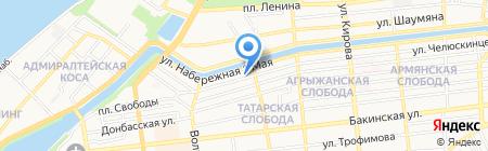 Автоспец на карте Астрахани