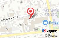Схема проезда до компании Бастион в Астрахани