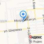 Астраханский кровельный центр на карте Астрахани